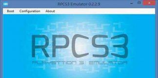 RPCS3 PS3 Emulatör