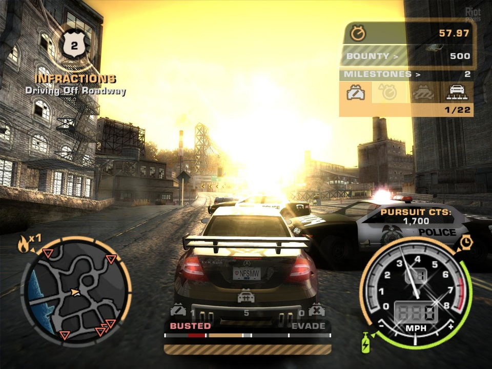 Need For Speed Most Wanted Black Edition Full PC İndir