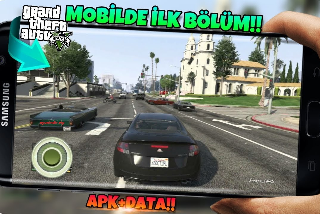 GTA 5 San Andreas Apk İndir Full + Android + Data Mod GTA V