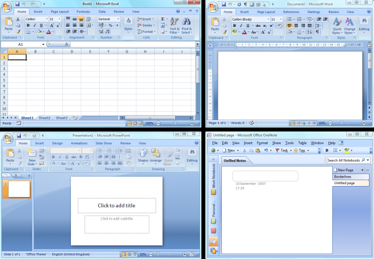 microsoft office excel 2007 indir bedava