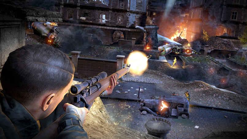 Sniper Elite V2 Remastered-CODEX - 2019 full indir