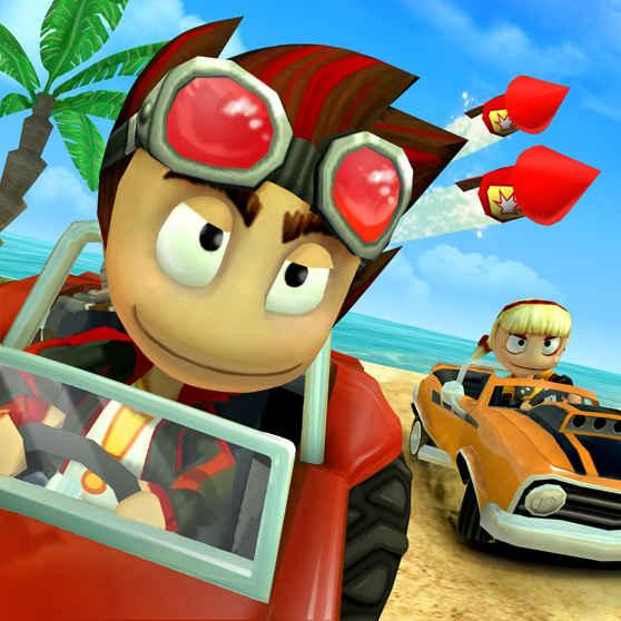 Beach Buggy Racing Apk İndir